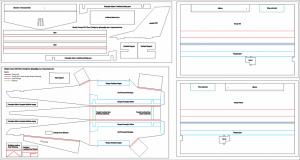 Pesawat RC Simple Cessna WS 75cm Plans Design Download