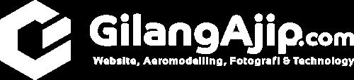 Gilang Ajip Logo Putih