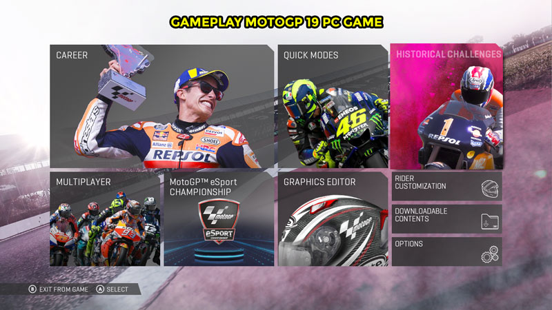 Gameplay MotoGP 19 PC Game