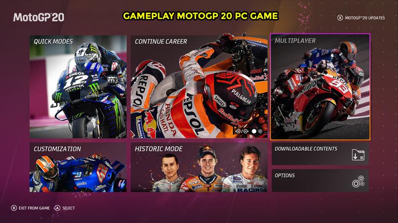 Gameplay MotoGP 20 PC Game
